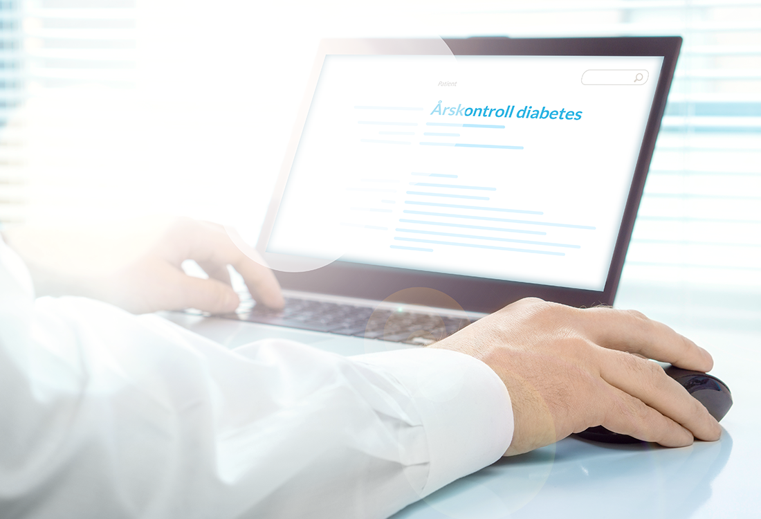 Doctrin plattform Flow Årskontroll diabetes
