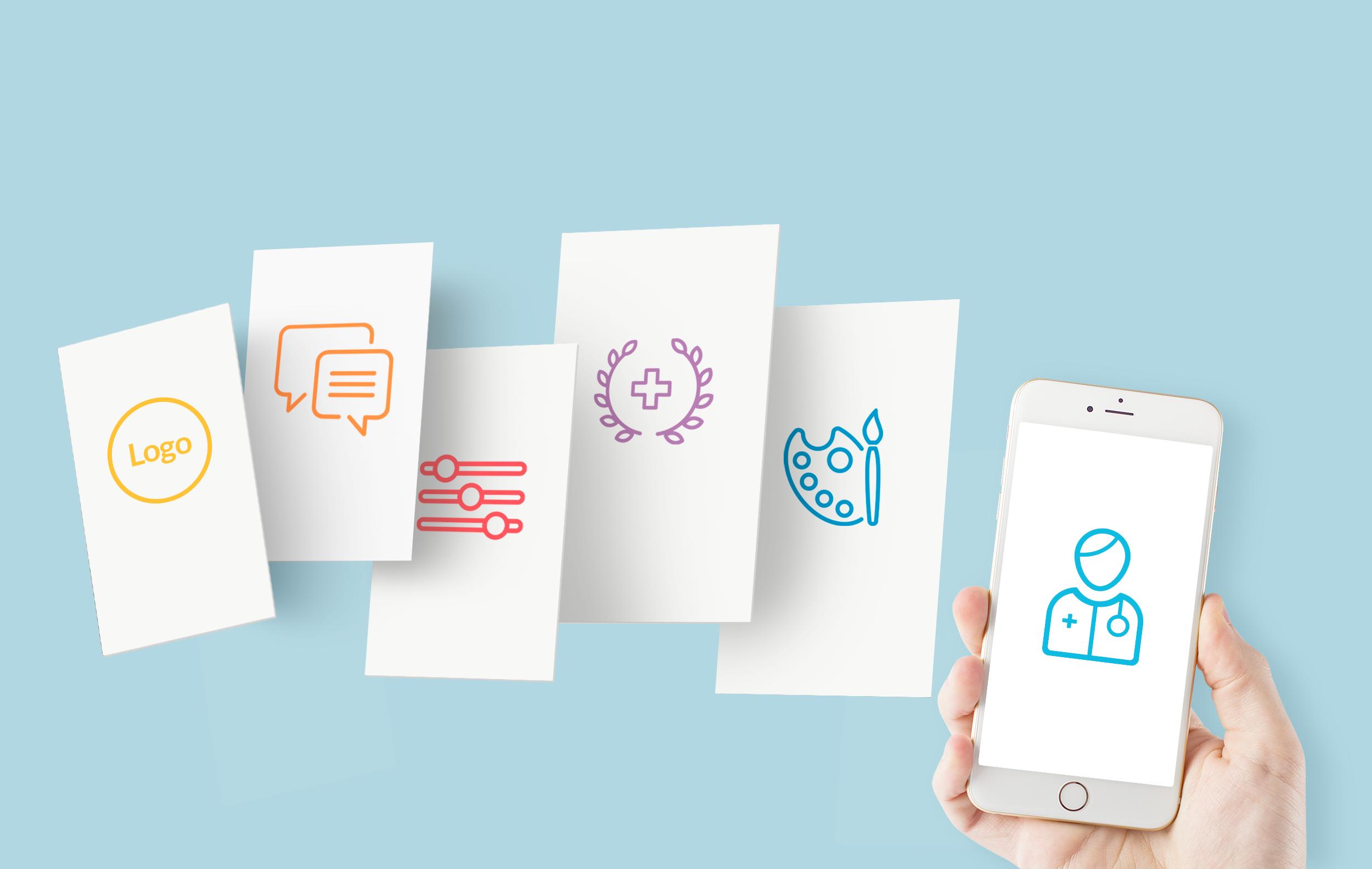 Doctrin Flow - möjlig att anpassa till vårdgivarens varumärke